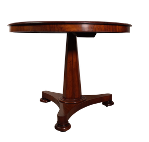 George III Mahogany Tilt Top Breakfast Table