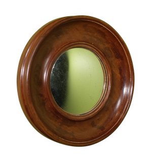 Wooden Convex Mirror
