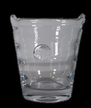 Mulberry Glass Ice Bucket