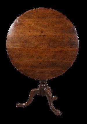 George III Oak Tilt Top Table