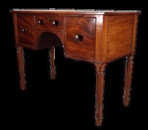 Late George III Mahogany Sideboard with Three Drawers