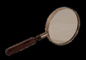 Nickel Magnifying Glass