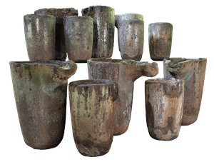 Collection of Twelve Crucibles