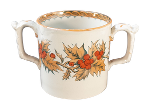 Lustre Holly Loving Cup by E. M. and Co.