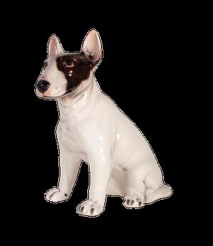Ceramic English Bull Terrier