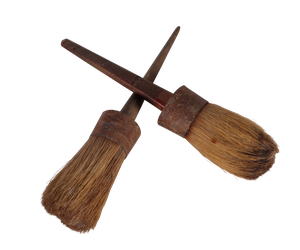 Two Artist Brushes