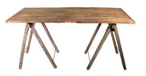 Rustic Tressle Table