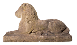 Composite Naive Model of Reclining Lion