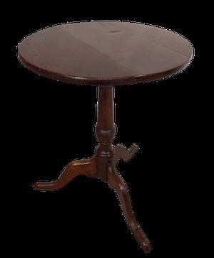 George III Oak Tripod Table
