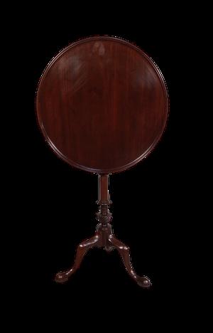 George III Mahogany Tilt Top Tripod Table