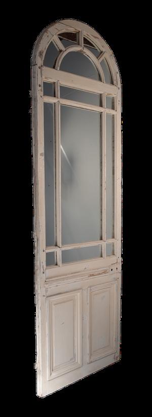 Orangery Mirrored Door with Old Paint