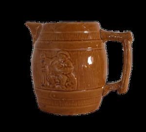 Pottery Tavern Jug Stamped J Oates