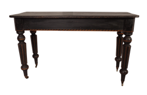 Aesthetic Movement Pine Console with Original Painted Decoration