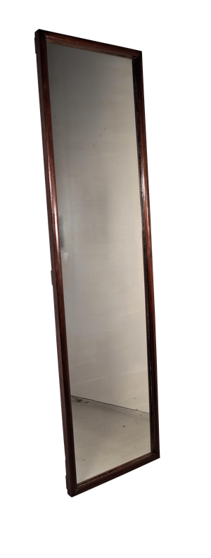 Edwardian Mahogany Framed Tailors Mirror from a Gentleman Outfitters