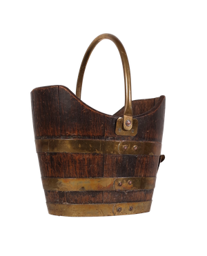 Coopered Oak Bucket