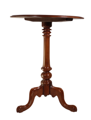 Mahogany Tripod Pedestal Table