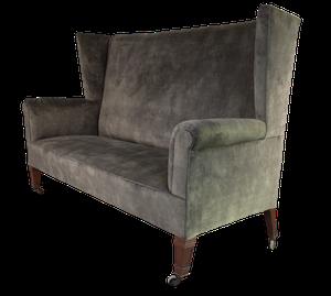 Aesthetic Movement Wingback Sofa