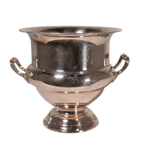 Silver Plated Campana Urn Shaped Ice Bucket