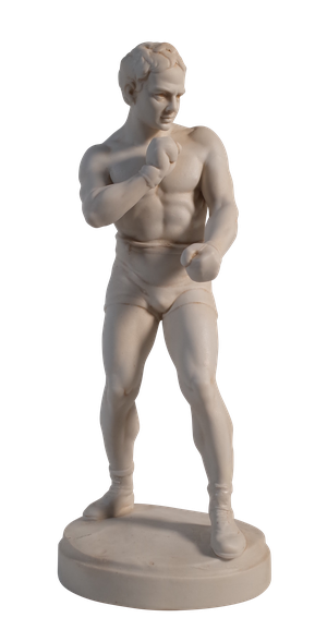 Parian Figure of a Pugilist