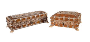 Two Anglo-Indian Boxes