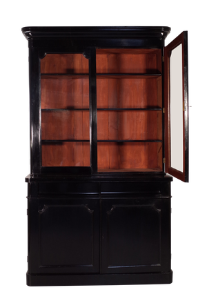 Victorian Ebonised Bookcase