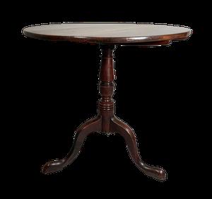 George III Oak Tilt Top Tripod Base Pedestal Table