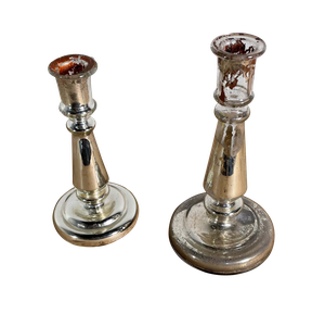 Two Mercury Candlesticks