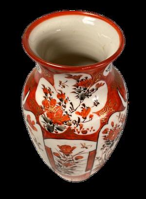 Small Meiji Period Kutani Vase