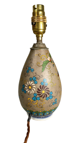 Chinese Vase Converted to a Table Lamp