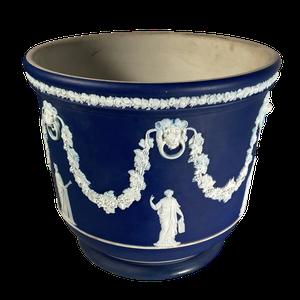 Blue Jasperware Wedgwood Jardiniere