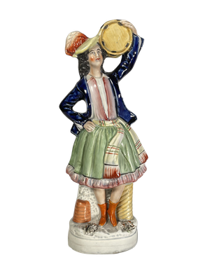 Staffordshire Flatback Figure