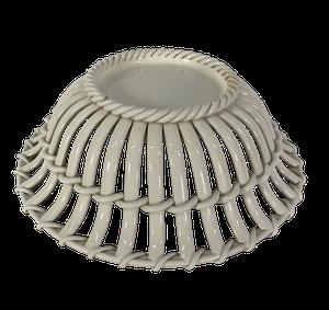 Wedgwood Creamware Basketweave Bowl